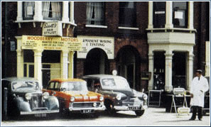 Woodberry motors in 1958